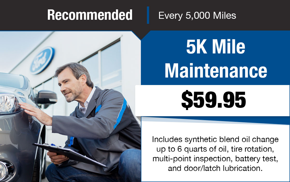 Ford 5K Mile Service Special Coupon