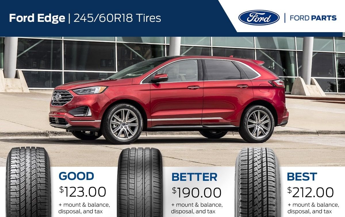 Ford Edge Tire Special Coupon