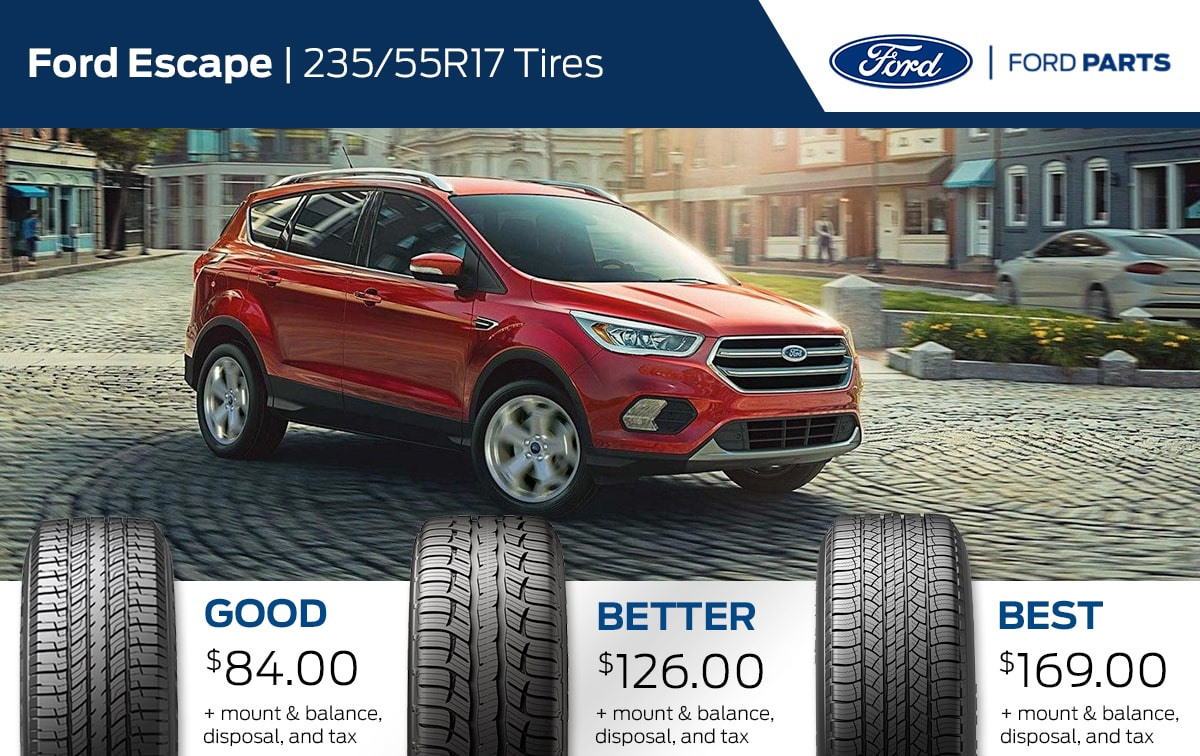 Ford Escape Tire Special Coupon