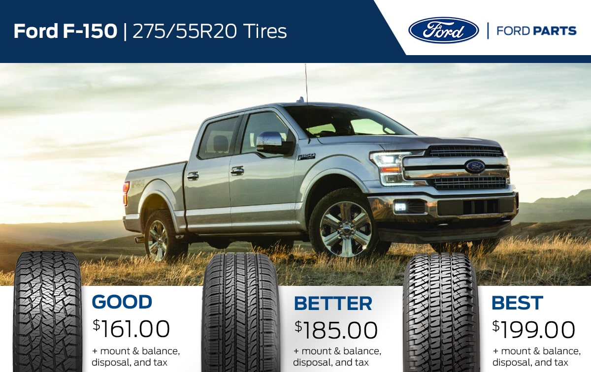 Ford F-150 Tire Special Coupon