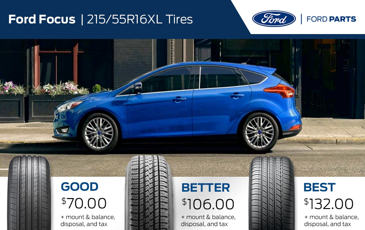 Ford Focus Tire Special Coupon