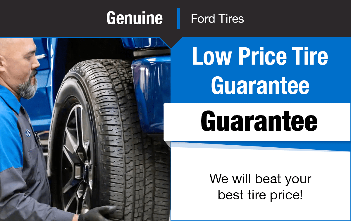 Ford Low Price Tire Guarantee Special Coupon