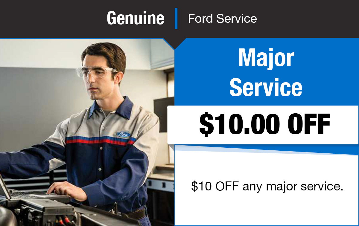 Ford Major Service Special Coupon