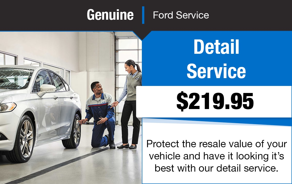Ford Detail & Service Special Coupon