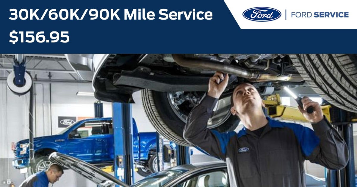 Ford 30K/60K/90K Mile Service Service Special Coupon