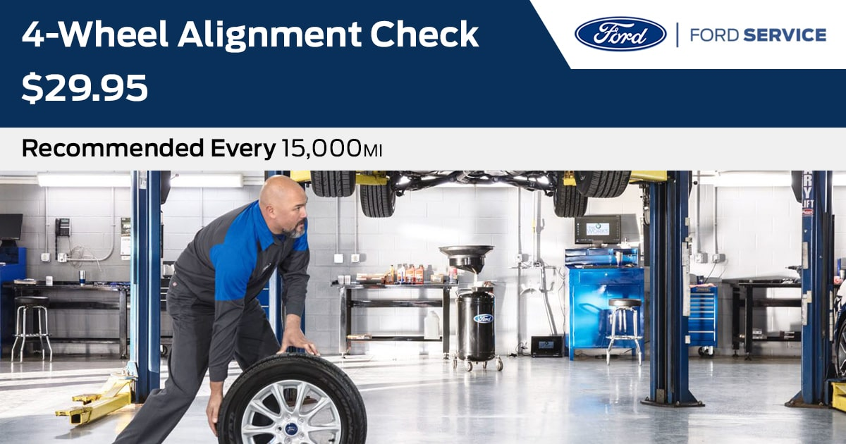 Ford 4-Wheel Alignment Check Service Special Coupon
