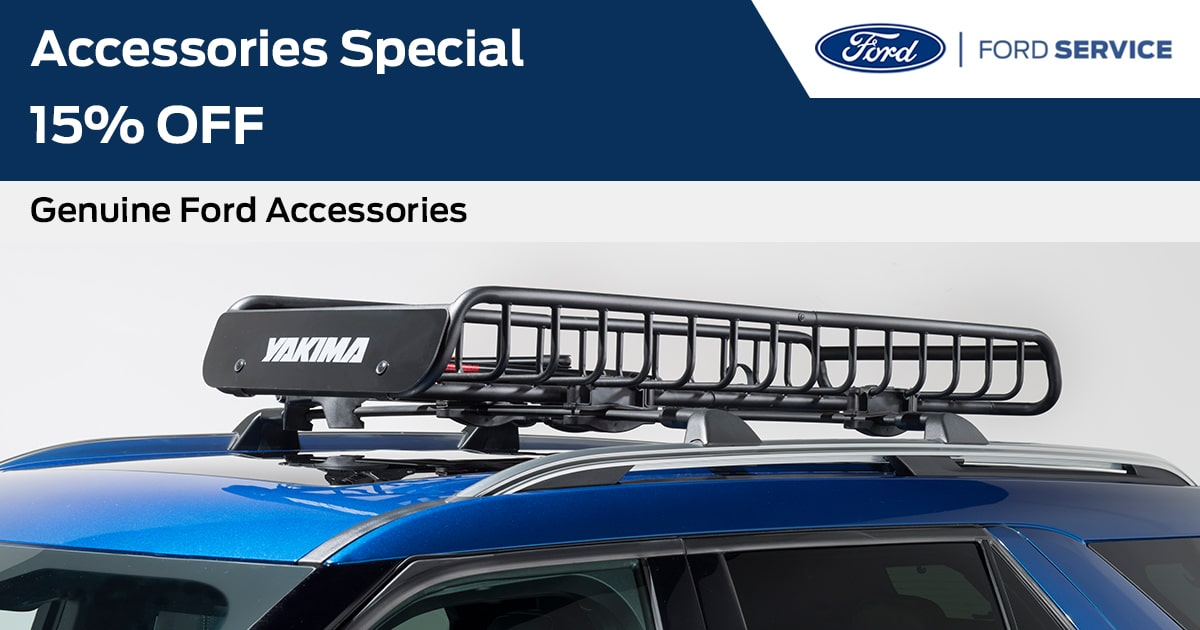 Ford Accessories Special Service Special Coupon