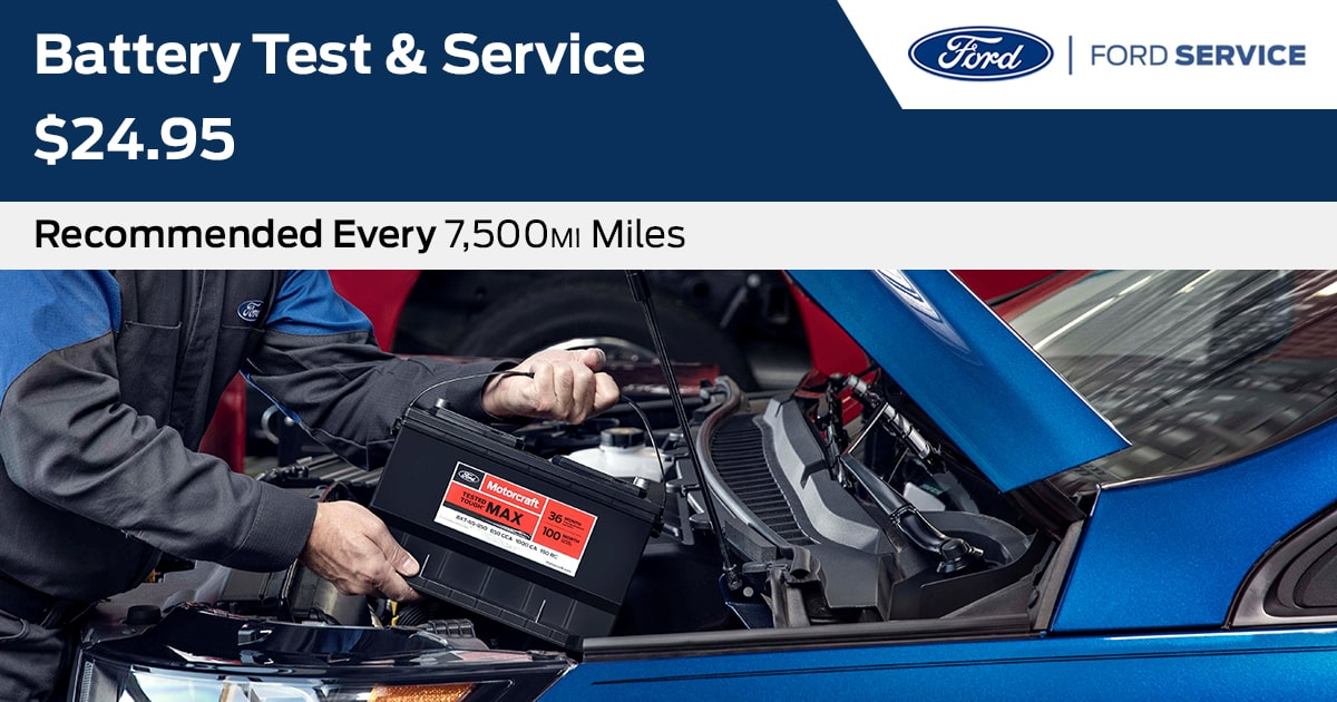 Ford Battery Replacement Service