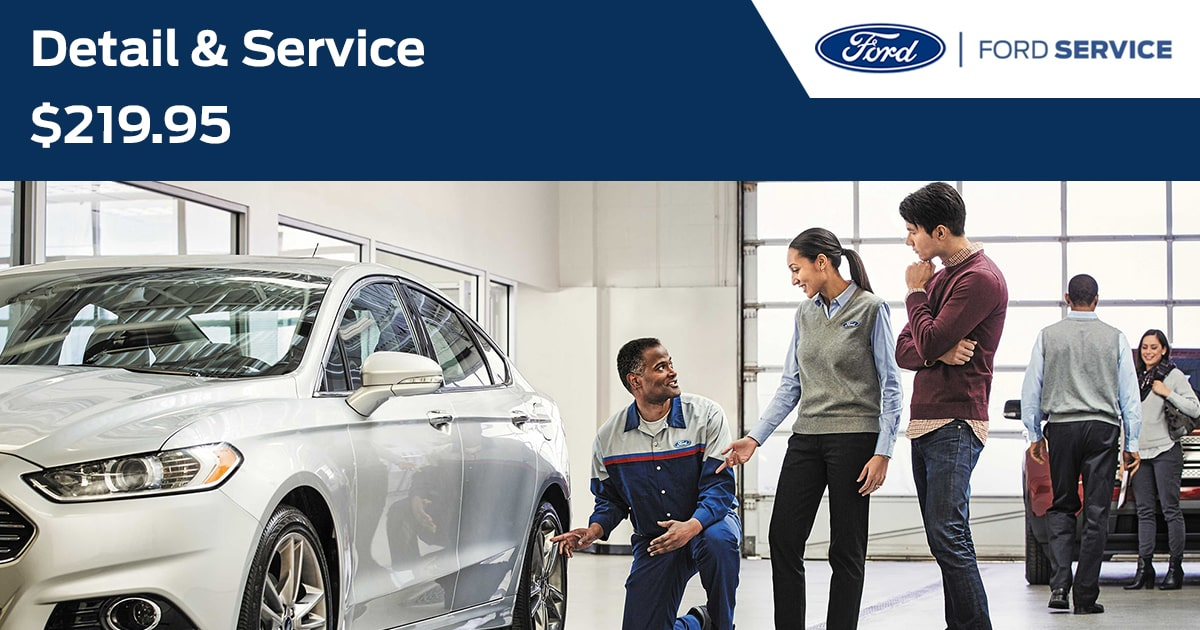 Ford Detail & Service Service Special Coupon