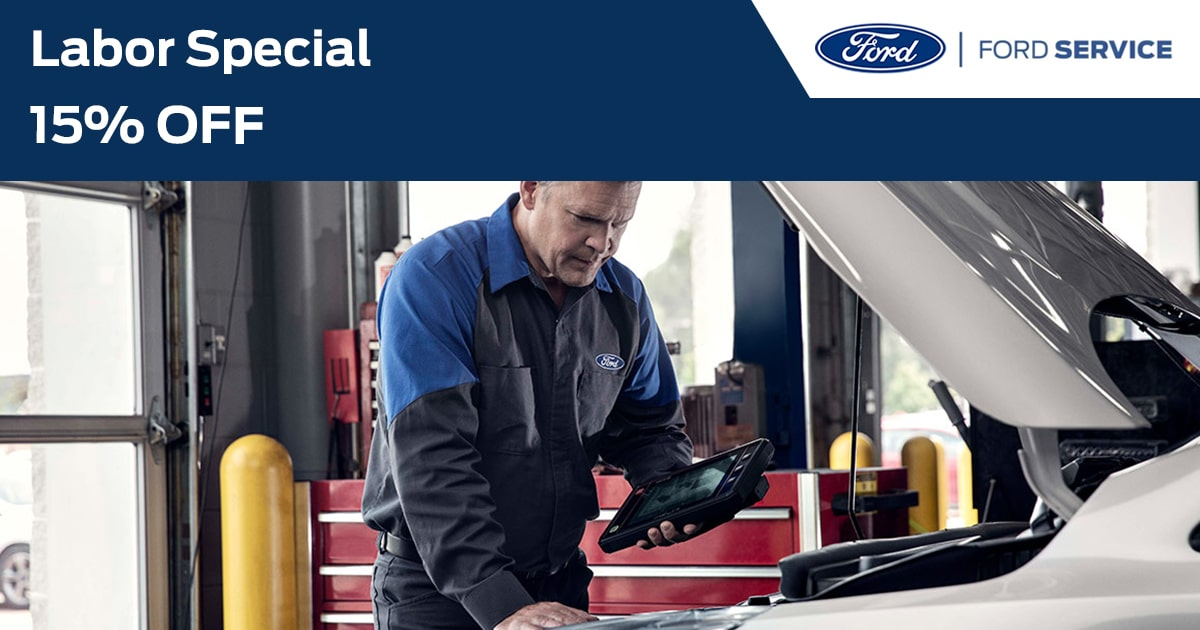 Ford Labor Special Service Special Coupon