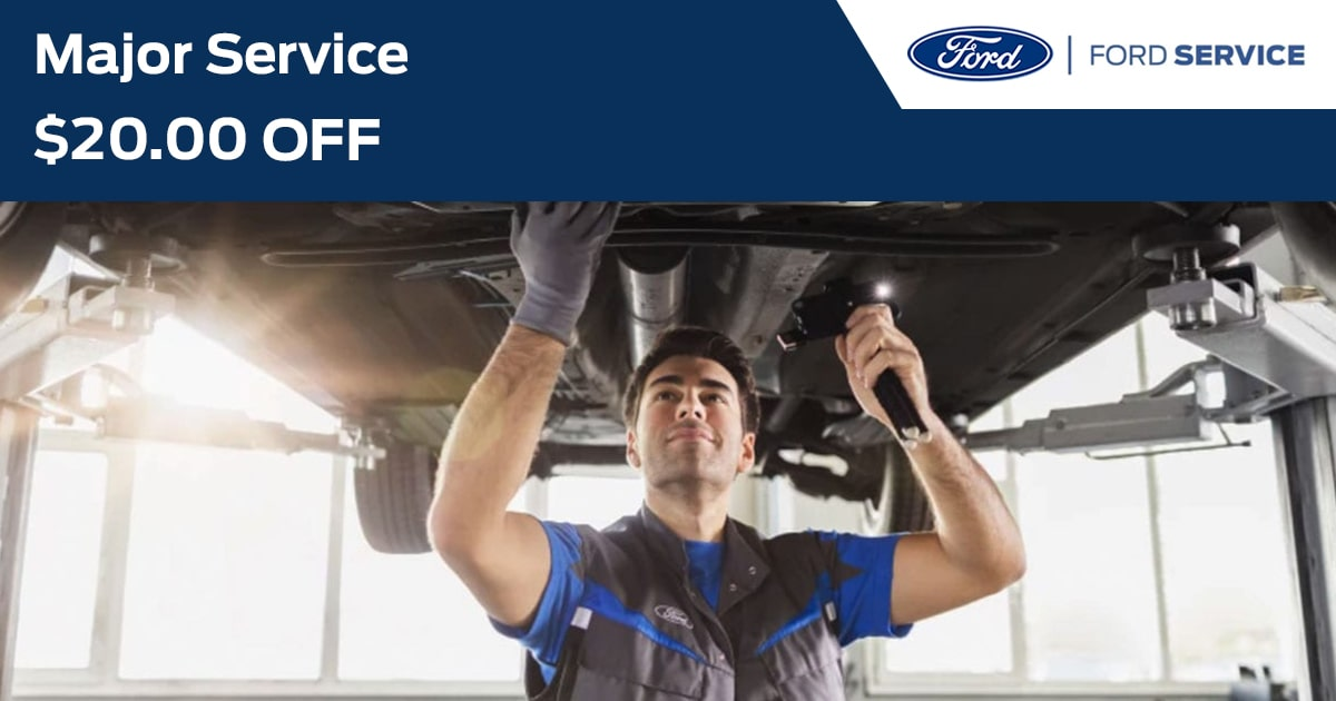 Ford Major Service Service Special Coupon