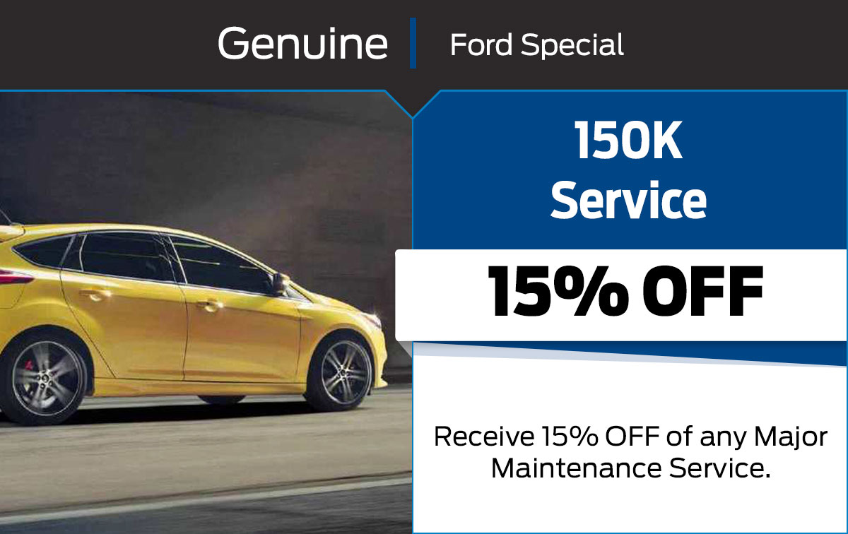 150K Service Special Coupon