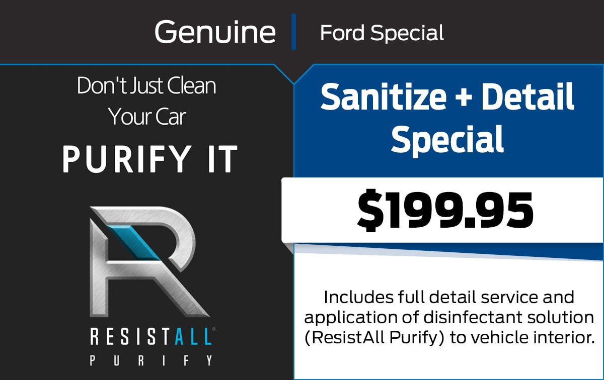 Sanitize + Detail Special Coupon