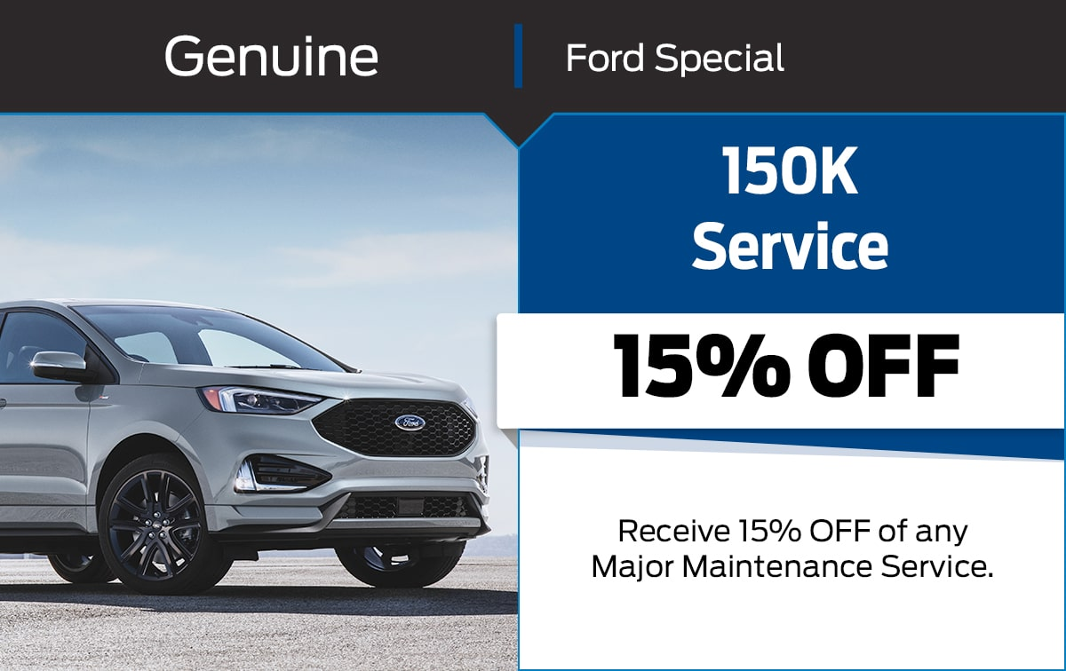 Ford 150K Service Special Coupon