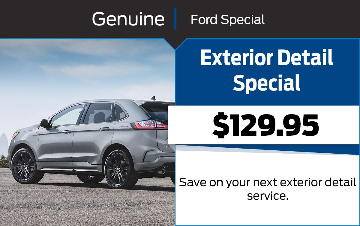 Ford Exterior Detail Special Coupon