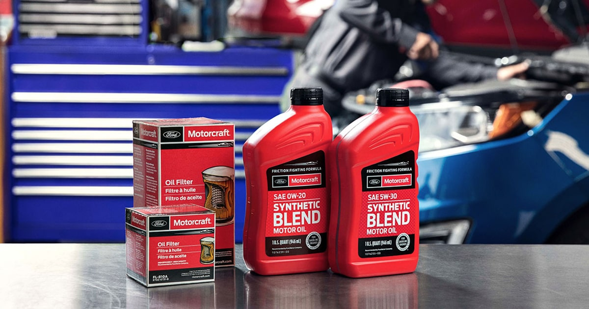 Ford Full Synthetic Oil Change Service Special Coupon