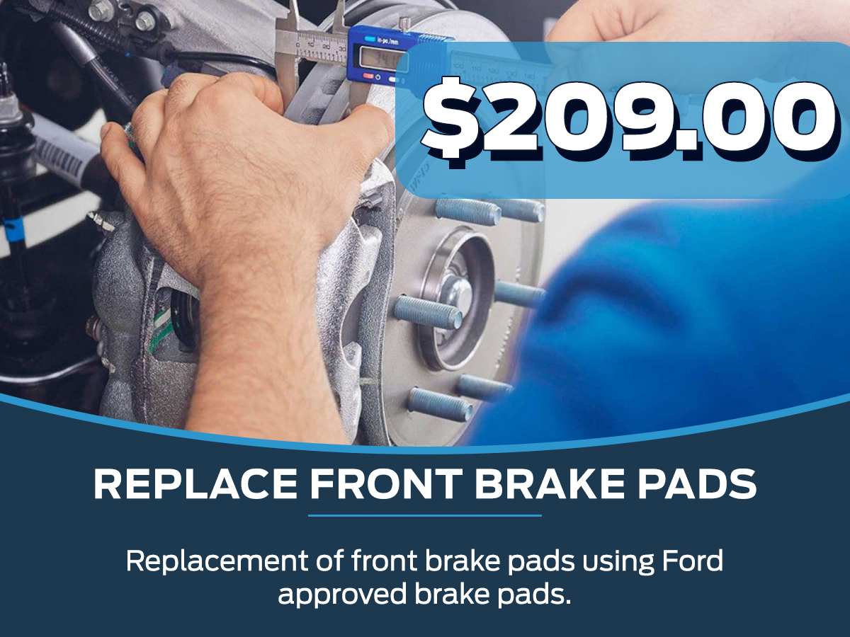 When To Replace Brake Pads >> Brake Pad Replacement Joe Cooper Ford Of Edmond