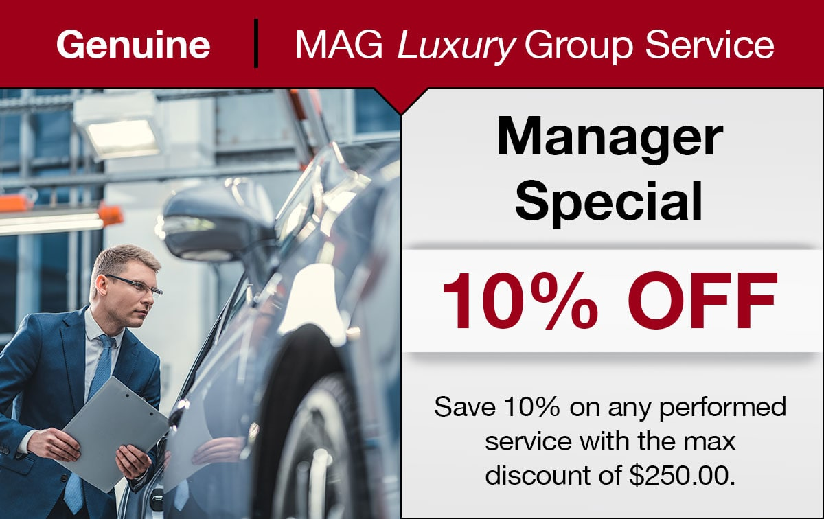 Manager Service Special Coupon