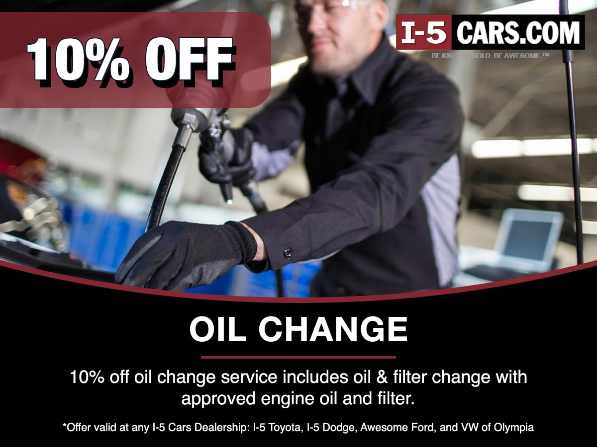 Oil Change Service Special Coupon