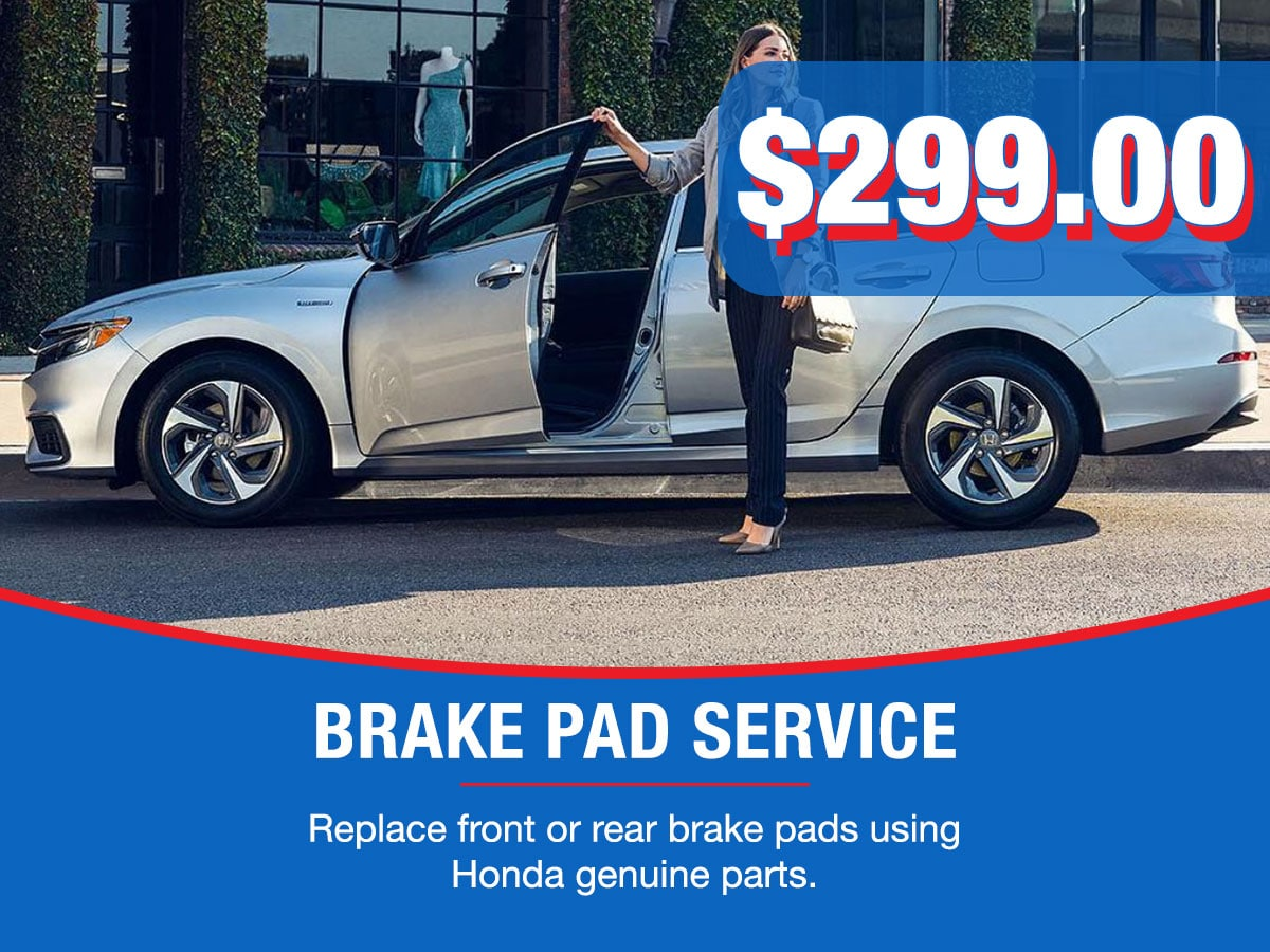 Brake Pad Service Special Coupon