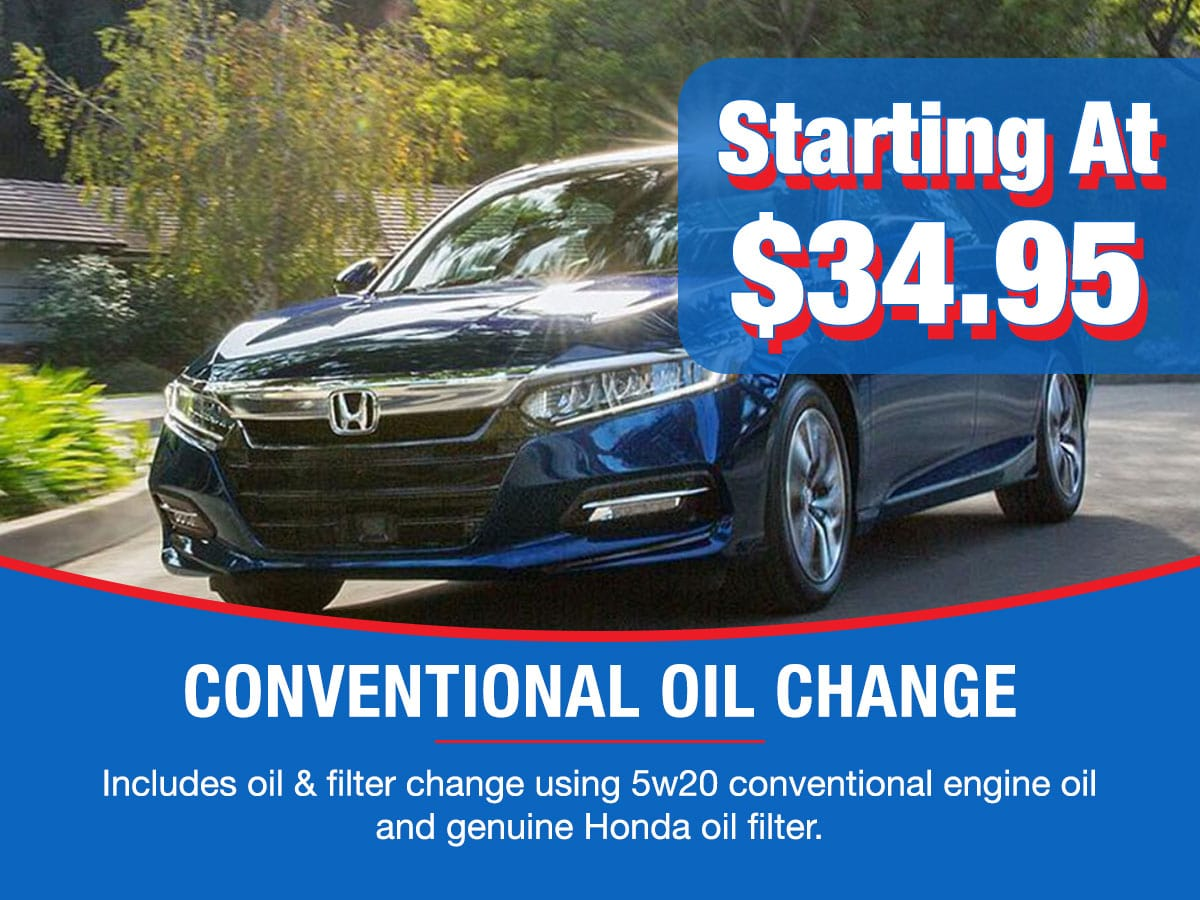 Conventional Oil Change Service Special Coupon