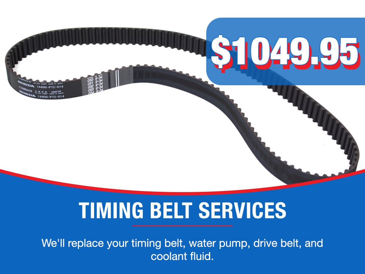 Timing Belt Service Special Coupon
