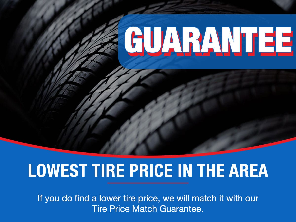 Tire Price Match Guarantee Service Special Coupon