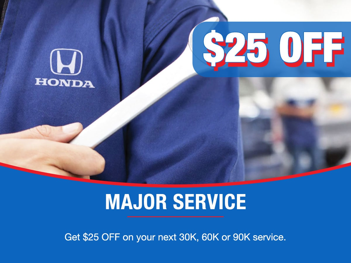 Major Service Special Coupon