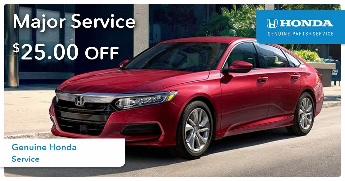 Honda Major Service Special Coupon