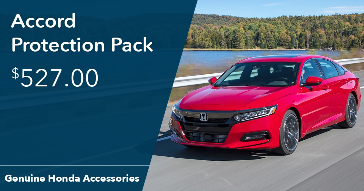 Honda Accord Protection Pack Special Coupon