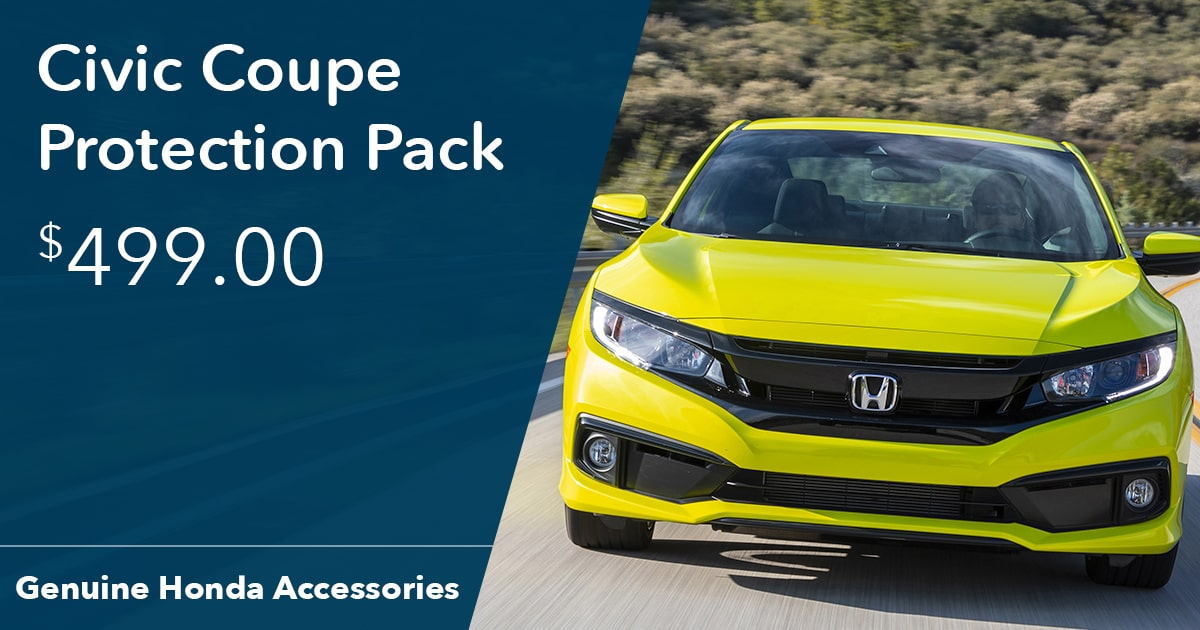Honda Civic Coupe Protection Pack Special Coupon