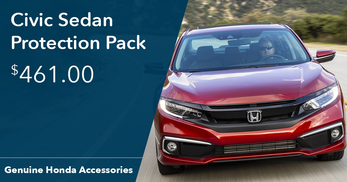 Honda Civic Sedan Protection Pack Special Coupon