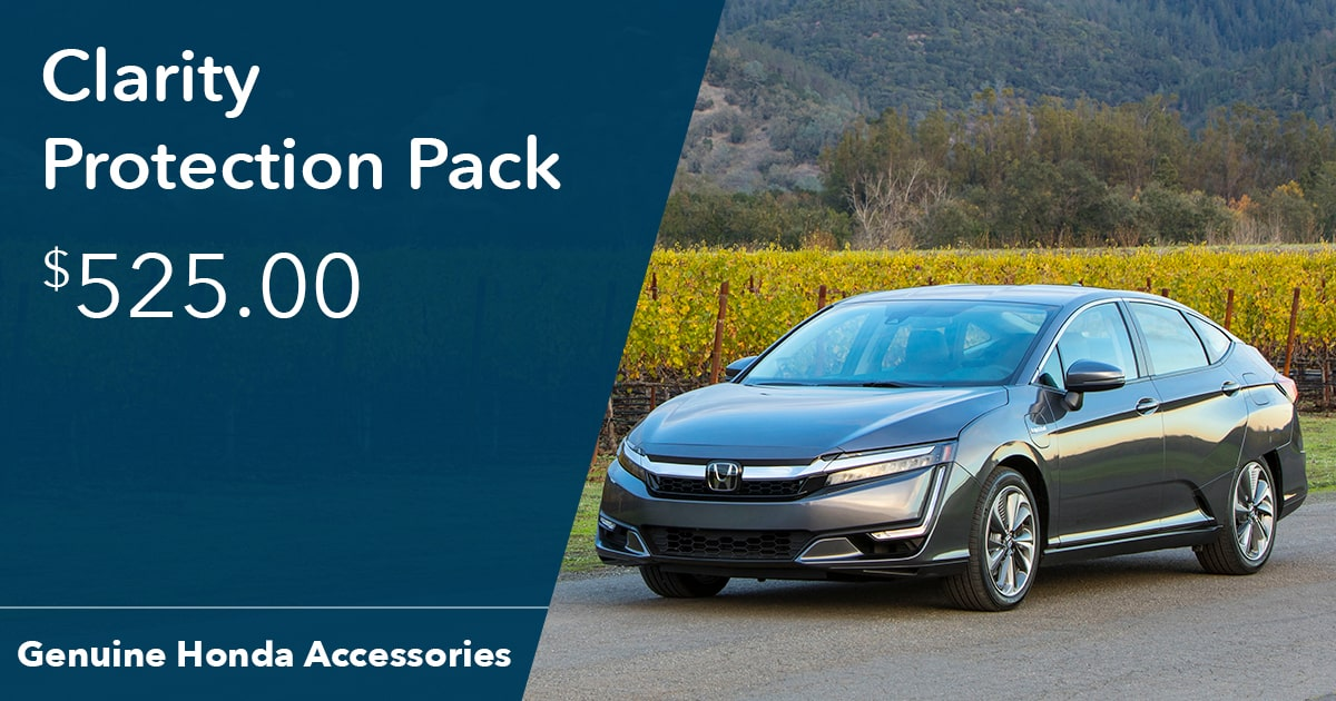 Honda Clarity Protection Pack Special Coupon