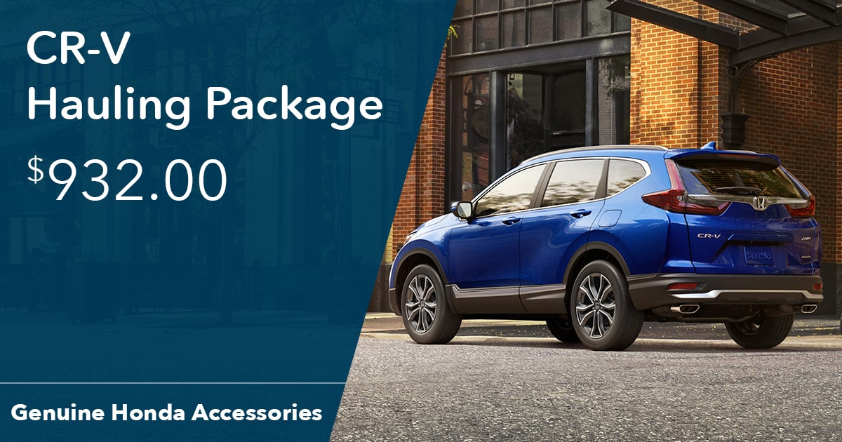 Honda CR-V Hauling Package Special Coupon