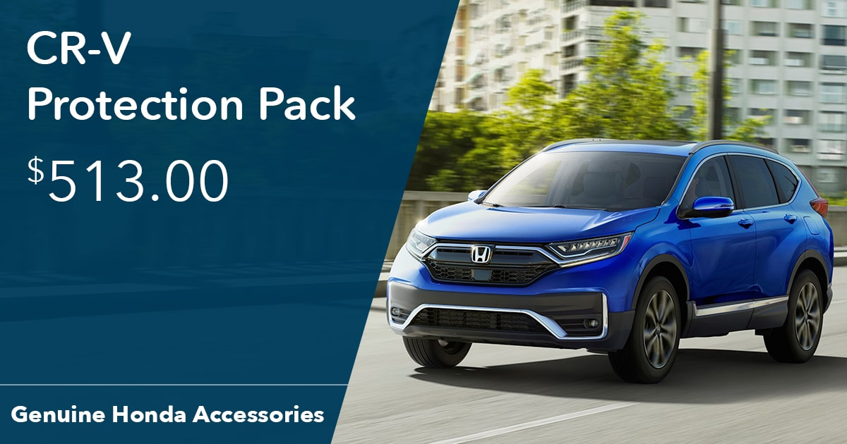Honda CR-V Protection Pack Special Coupon