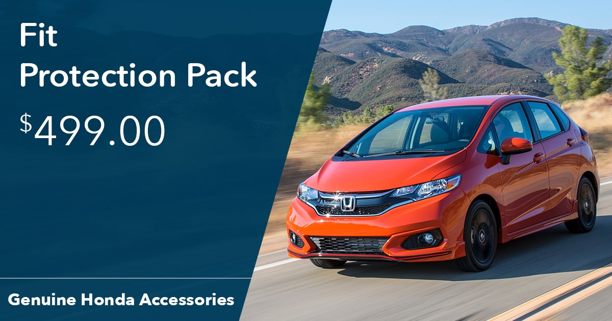 Honda Fit Protection Pack Special Coupon