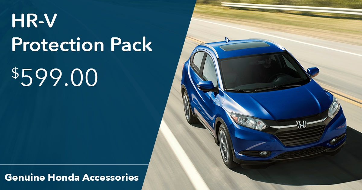 Honda HR-V Protection Pack Special Coupon