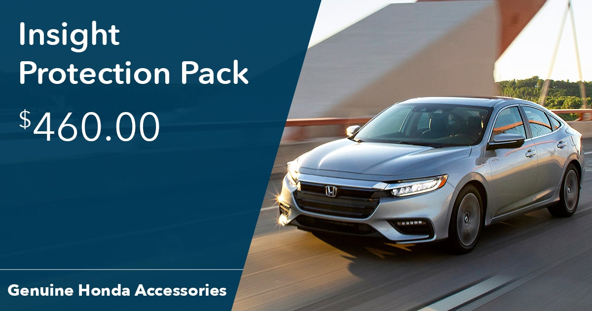 Honda Insight Protection Pack Special Coupon