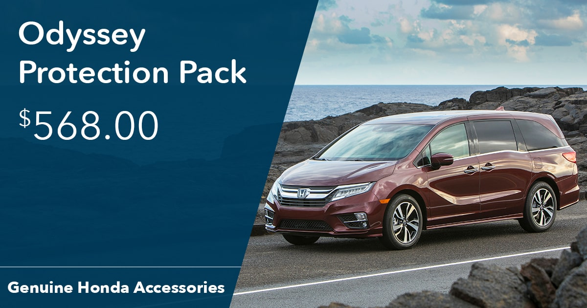 Honda Odyssey Protection Pack Special Coupon