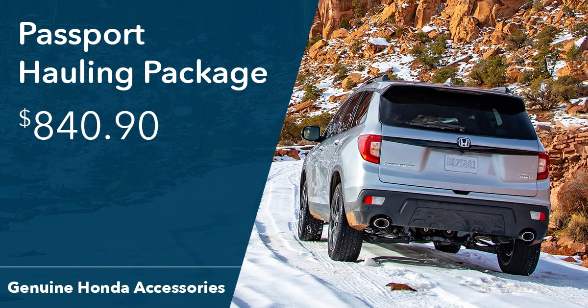 Honda Passport Hauling Package Special Coupon