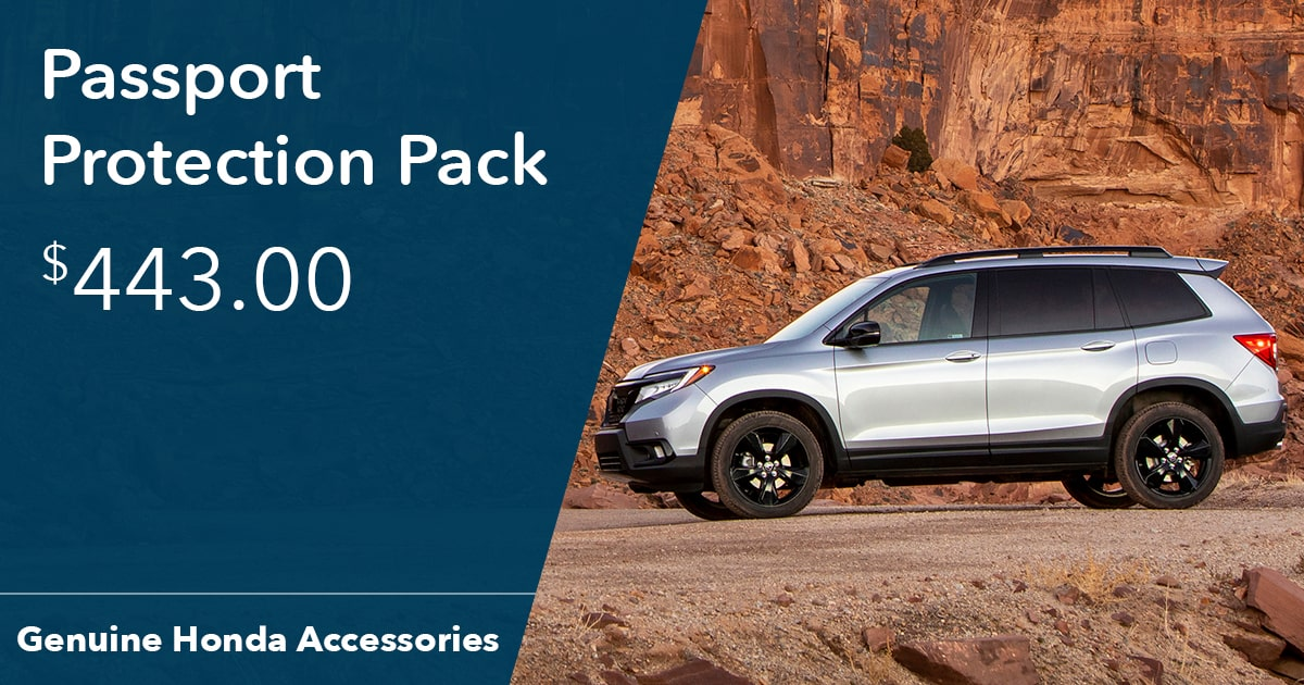 Honda Passport Protection Pack Special Coupon