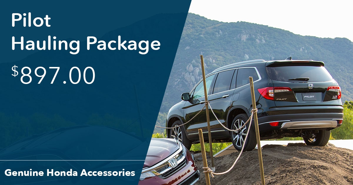 Honda Pilot Hauling Package Special Coupon