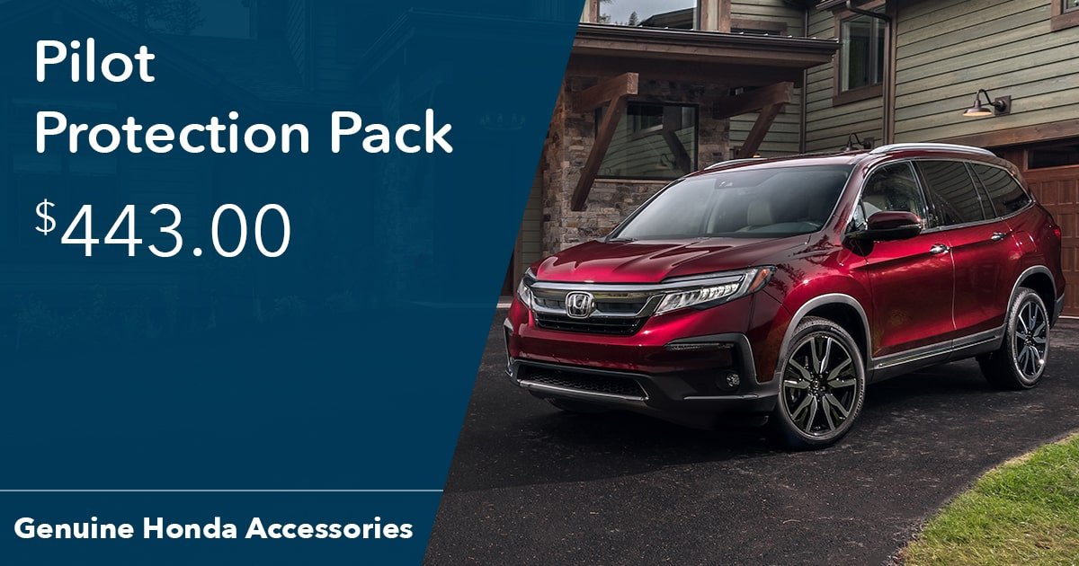 Honda Pilot Protection Pack Special Coupon