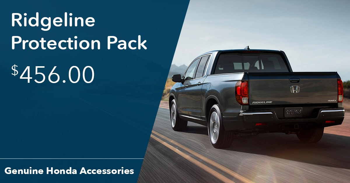 Honda Ridgeline Protection Pack Special Coupon