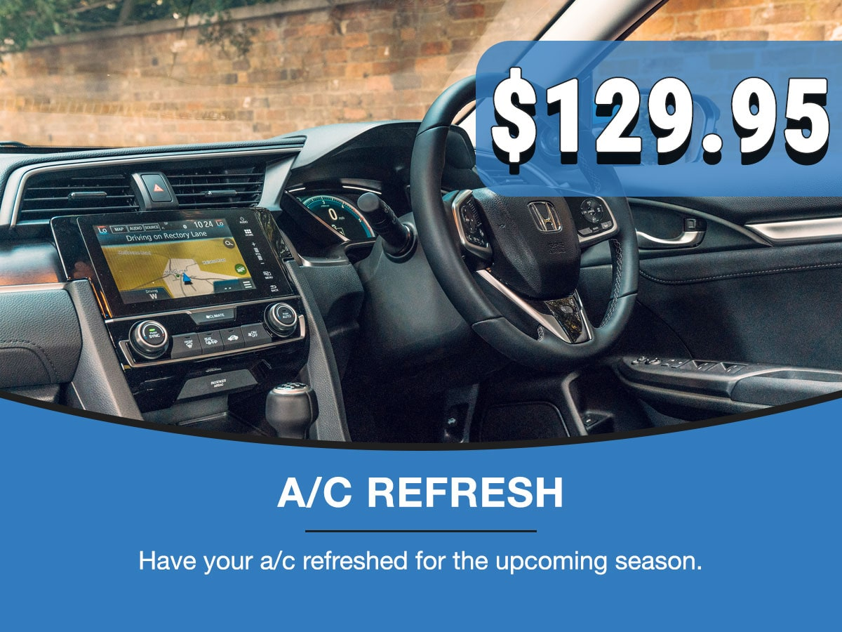 A/C Refresh Service Special Coupon