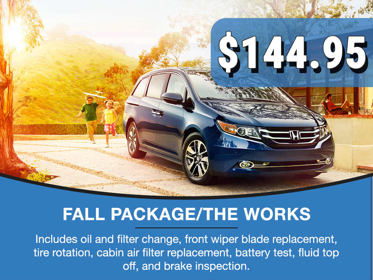 Fall Package Service Special Coupon