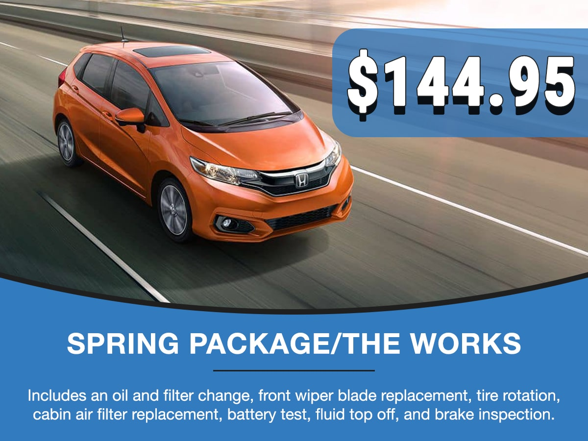 Spring Package Service Special Coupon