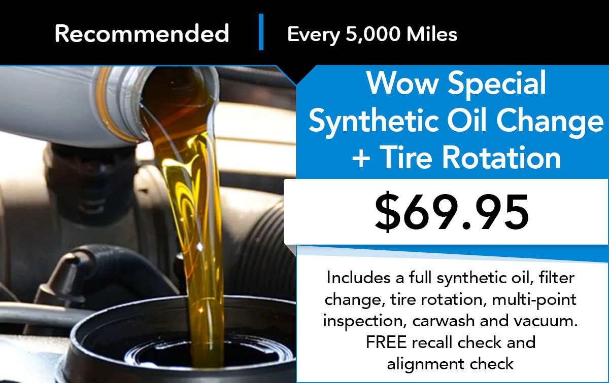Honda Wow Special Oil Change Service Special Coupon