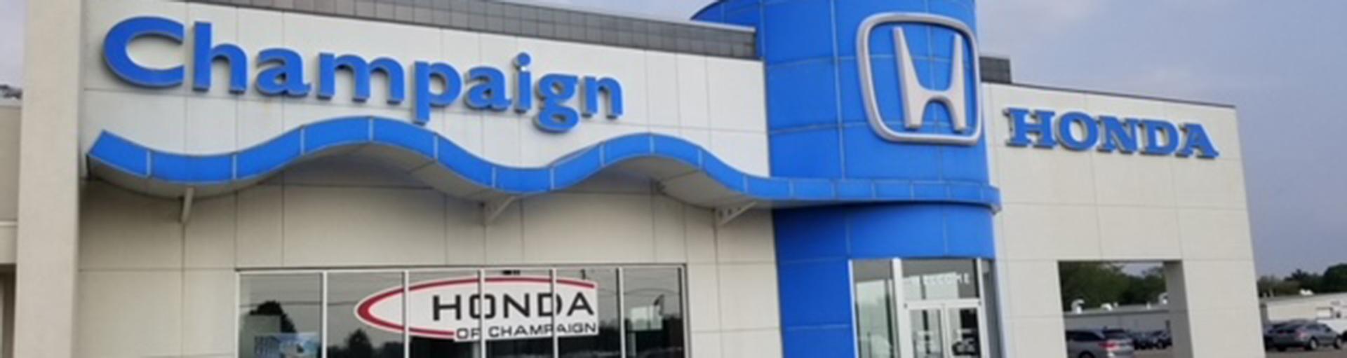 Honda of Champaign Service & Parts Specials