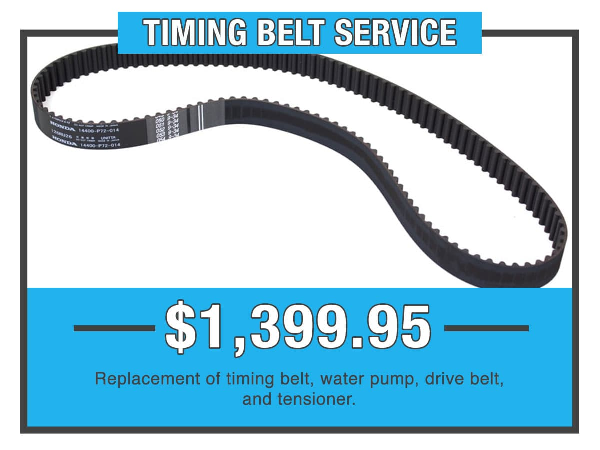 Honda Timing Belt Service Special Coupon